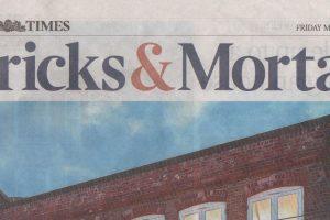 Bricks & Mortar Frontpage