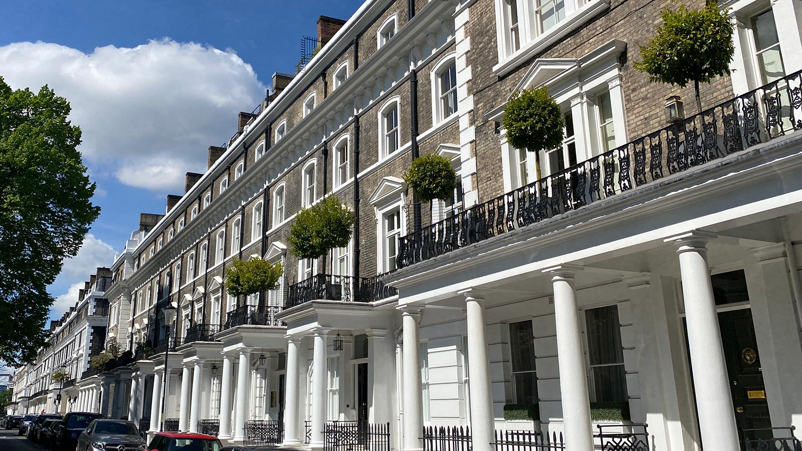 A popular square for The Buying Agents South Kensington